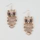 FULL TILT Owl Chandelier Earrings