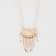 FULL TILT Mini Textured Bib Spoons Necklace