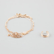 Stand By Me Anklet & Toe Ring Set