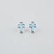 FULL TILT Turquoise Cross Earrings