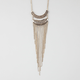 FULL TILT Crescent Fringe Necklace