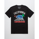 RIOT SOCIETY Cali Space Mens T-Shirt