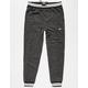 BROOKLYN CLOTH Marled Varsity Mens Jogger Pants