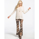 FULL TILT Chevron Ethnic Print Womens Flare Pants