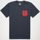 GLAMOUR KILLS Working Man Mens Pocket Tee