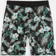 BROOKLYN CLOTH Tropical Print Mens Jogger Shorts