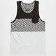 BROOKLYN CLOTH Geometric Mens Pocket Tank