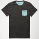 BLUE CROWN Morris II Mens Pocket Tee