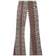 FULL TILT Vertical Medallion Girls Flare Pants