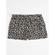 FULL TILT Ditsy Print Belted Tie Girls Shorts