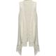 FULL TILT Solid Girls Fringe Sweater Wrap