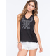 PATRONS OF PEACE Embroidery Womens Tank