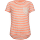 FULL TILT Stripe Girls Pocket Tee