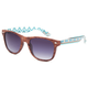 BLUE CROWN Wood Aztec Sunglasses