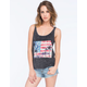 FULL TILT Americana Palm Womens Tank