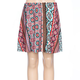 FULL TILT Vertical Mixed Media Girls Skater Skirt