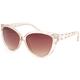 FULL TILT Round Crystal Sunglasses