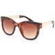 FULL TILT Metal Arm Square Sunglasses