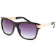 FULL TILT Metal Arm Round Sunglasses