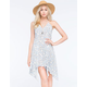 FULL TILT Paisley Handkerchief Dress