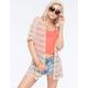 FULL TILT Crochet Womens Kimono
