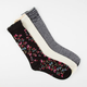 FULL TILT 3 Pairs Womens Crew Socks