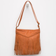 Braid Fringe Crossbody Bag