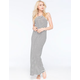 FULL TILT High Neck Maxi Dress