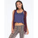 FULL TILT Hooded Womens Crochet Vest