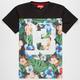ASPHALT YACHT CLUB Paradise Lost Mens Mesh T-Shirt