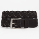 Braided Suede Mens Belt
