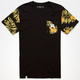 LIRA Fashion Floral Mens Pocket Tee