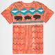 MOWGLI SURF Sacred Buffalo Mens T-Shirt