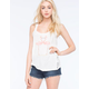 OTHERS FOLLOW Lace Back Womens Tank