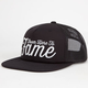 HALL OF FAME Here to Fame Mens Snapback Hat