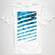 HURLEY Tie Dye Stripe Crush Mens T-Shirt