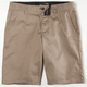 BLUE CROWN Slim Mens Chino Shorts