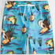 NEFF Swamp Life Mens Hot Tub Shorts