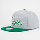 MITCHELL & NESS Philadelphia Eagles Mens Snapback Hat