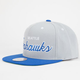 MITCHELL & NESS Seattle Seahawks Mens Snapback Hat