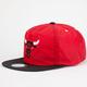 MITCHELL & NESS Chicago Bulls Mens Zipback Hat