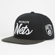 MITCHELL & NESS Brooklyn Nets Mens Snapback Hat