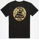 KR3W Snake Skull Mens T-Shirt
