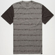 KR3W Geo Stripe Mens T-Shirt