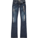 ZCO Destructed Womens Bootcut Jeans