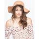 Braided Band Felt Womens Floppy Hat