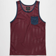 SHOUTHOUSE Side Line Mens Mesh Tank
