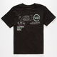 YOUNG & RECKLESS Paisley Bar Boys T-Shirt