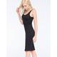 FULL TILT Ribbed Body Con Dress