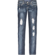 ALMOST FAMOUS Destructive Womens Skinny Jeans